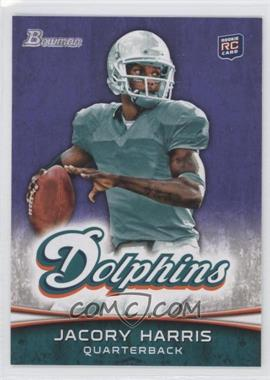 2012 Bowman Purple #139 - Jacory Harris
