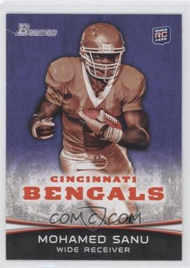 2012 Bowman Purple #152 - Mohamed Sanu