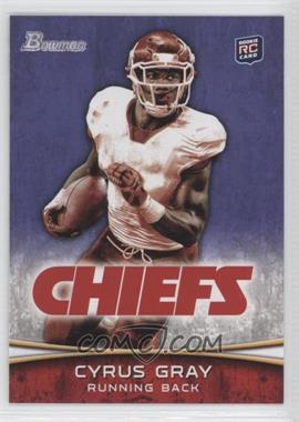 2012 Bowman Purple #165 - Cyrus Gray