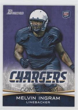 2012 Bowman Purple #180 - Melvin Ingram