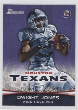 2012 Bowman Purple #191 - Dwight Jones