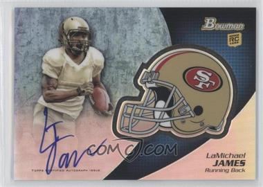 2012 Bowman Signatures Chrome Rookie Autographs #BCRA-LJ - LaMichael James