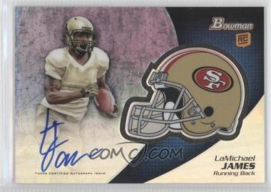 2012 Bowman Signatures Chrome Rookie Autographs #BCRA-LJ - LaMichael James