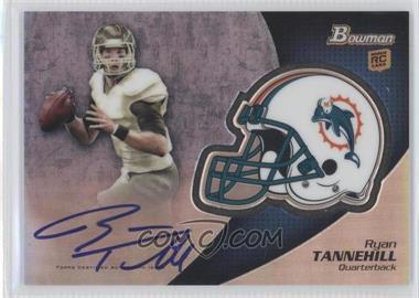 2012 Bowman Signatures Chrome Rookie Autographs #BCRA-RT - Ryan Tannehill