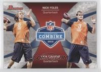 Nick Foles, Kirk Cousins