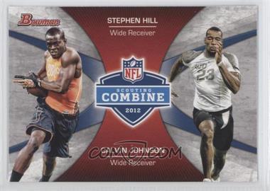 2012 Bowman Signatures Combine Competition #CC-HJ - Stephen Hill