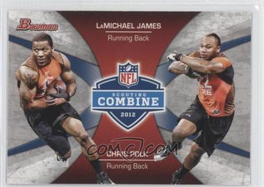 2012 Bowman Signatures Combine Competition #CC-JP - LaMichael James, Chris Polk
