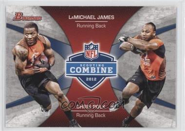 2012 Bowman Signatures Combine Competition #CC-JP - LaMichael James, Chris Polk
