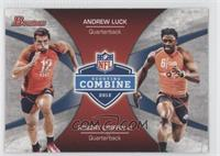 Andrew Luck, Robert Griffin III