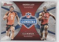 Andrew Luck, Cam Newton