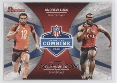 2012 Bowman Signatures Combine Competition #CC-LN - Andrew Luck
