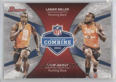 2012 Bowman Signatures Combine Competition #CC-MR - Lamar Miller