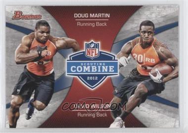 2012 Bowman Signatures Combine Competition #CC-MW - Doug Martin