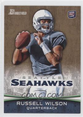 2012 Bowman Signatures Gold #116 - Russell Wilson