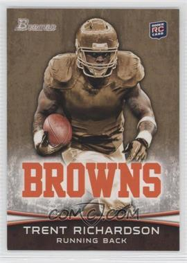 2012 Bowman Signatures Gold #120 - Trent Richardson