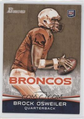 2012 Bowman Signatures Gold #121 - Brock Osweiler