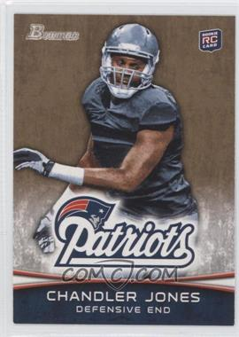 2012 Bowman Signatures Gold #126 - Chandler Jones