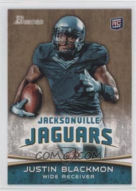 2012 Bowman Signatures Gold #130 - Justin Blackmon