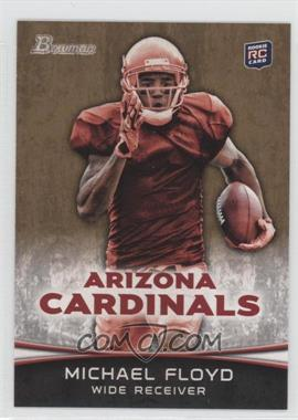 2012 Bowman Signatures Gold #140 - Michael Floyd