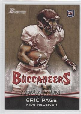 2012 Bowman Signatures Gold #141 - Eric Page