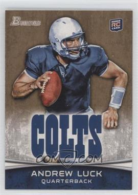 2012 Bowman Signatures Gold #150 - Andrew Luck