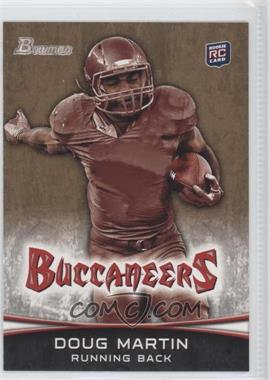 2012 Bowman Signatures Gold #155 - Doug Martin