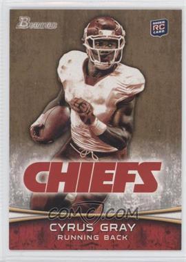 2012 Bowman Signatures Gold #165 - Cyrus Gray