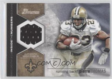 2012 Bowman Signatures Inside the Numbers Relics #ITNR-PT - Pierre Thomas