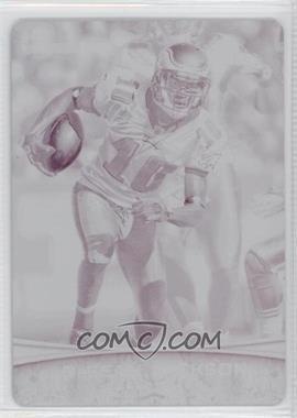 2012 Bowman Signatures Printing Plate Magenta #16 - DeSean Jackson /1