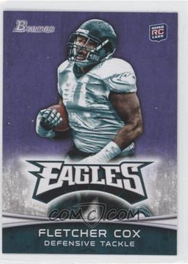 2012 Bowman Signatures Purple #101 - Fletcher Cox