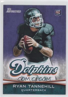 2012 Bowman Signatures Purple #110 - Ryan Tannehill