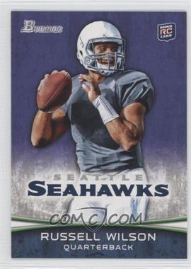 2012 Bowman Signatures Purple #116 - Russell Wilson