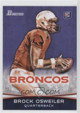 2012 Bowman Signatures Purple #121 - Brock Osweiler