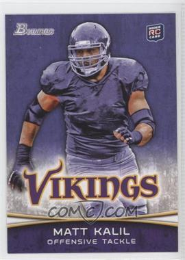 2012 Bowman Signatures Purple #128 - Matt Kalil