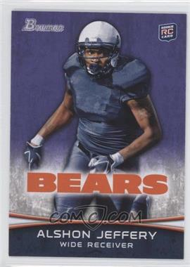 2012 Bowman Signatures Purple #137 - Alshon Jeffery
