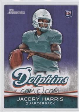 2012 Bowman Signatures Purple #139 - Jacory Harris