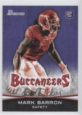 2012 Bowman Signatures Purple #143 - Mark Barron