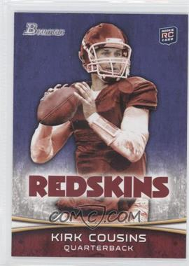 2012 Bowman Signatures Purple #145 - Kirk Cousins