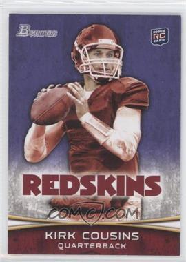 2012 Bowman Signatures Purple #145 - Kirk Cousins