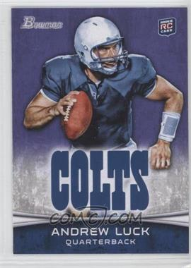 2012 Bowman Signatures Purple #150 - Andrew Luck