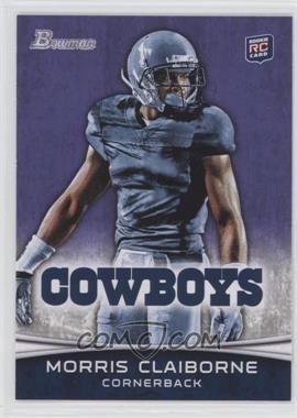 2012 Bowman Signatures Purple #160 - Morris Claiborne