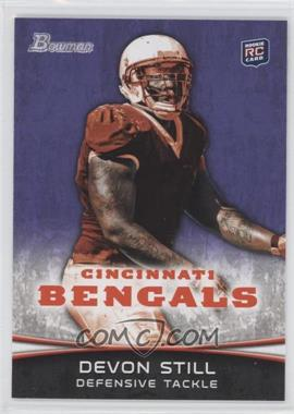 2012 Bowman Signatures Purple #169 - Devon Still