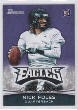 2012 Bowman Signatures Purple #171 - Nick Foles
