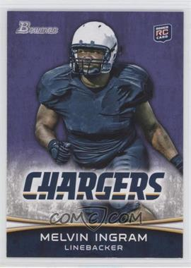 2012 Bowman Signatures Purple #180 - Melvin Ingram