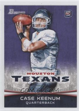 2012 Bowman Signatures Purple #196 - Case Keenum