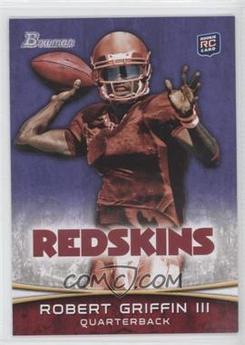 2012 Bowman Signatures Purple #200 - Robert Griffin III