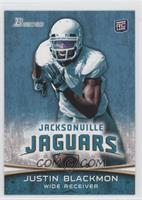 Justin Blackmon (No Ball/White Jersey)