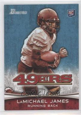2012 Bowman Signatures #132.1 - LaMichael James (White Jersey)