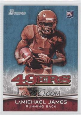 2012 Bowman Signatures #132.2 - LaMichael James (Red Jersey)
