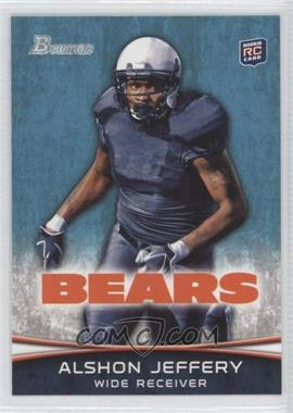 2012 Bowman Signatures #137.1 - Alshon Jeffery (Facing Front)